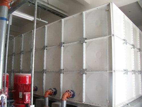 方形玻璃钢模压水箱